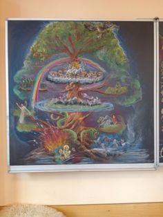 Wereldboom Yggdrassil, 4e klas, annemarie vermeulen