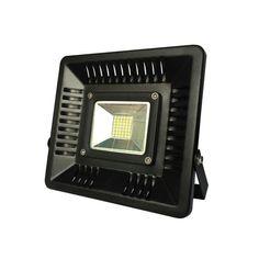 ΠΡΟΒΟΛΕΙΣ : ΠΡΟΒΟΛΕΑΣ LED 50W ΜΑΥΡΟΣ IP65 6500K SLIM N.147-69900 Led Tape, Nintendo Consoles, Electronics, Lighting, Lights, Lightning