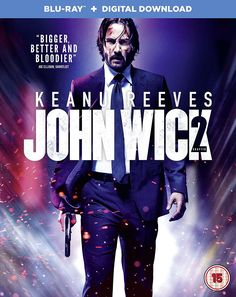 John Wick: Chapter 2 (2017) Action, Thriller, starring Keanu Reeves