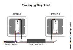 Two way lighting circuit.