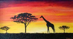 44 Ideas De Paisajes Africanos Para Pintar Paisajes Pinturas Africanas Paisajes De Africa
