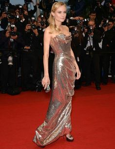 Love Diane Kruger looking just a little more glam and totally sexy at Cannes.