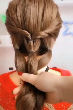 Beautiful ideas about hairstyles for girls. The post Awesome Hairstyles appeared first on Frisuren. Up Hairstyles, Pretty Hairstyles, Braided Hairstyles, Wedding Hairstyles, Stylish Hairstyles, Curly Hair Styles, Natural Hair Styles, Hair Videos, Hair Designs