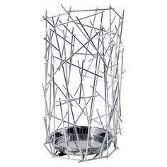 Blow Up Umbrella Stand in Steel by Alessi