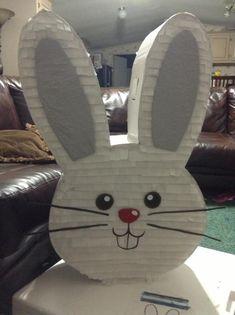 Piñata Creation.. Custom Easter bunny
