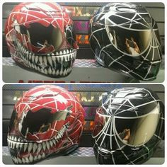 Spiderman Motorcycle Helmets