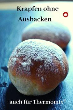 Donuts from the oven-Krapfen aus dem Backofen Without frying the oven recipes - Easy Smoothie Recipes, Easy Smoothies, Cinnamon Cream Cheese Frosting, Cinnamon Cream Cheeses, Pavlova, Beignets, Donuts, Cake Recipes, Snack Recipes