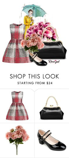 """""""Rosegal I/1"""" by diaryoflady ❤ liked on Polyvore featuring Sia, vintage, red, woman and rosegal"""