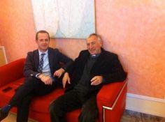 Pescara, Di Marco ha ricevuto in Provincia monsignor Francesco Santuccione