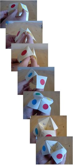 Things to Make and Do - Make a Cootie Catcher (Origami Fortune Teller) Origami Fortune Teller, Arts And Crafts Projects, Vintage Boutique, Atv, Catcher, Childhood Memories, Party Favors, Triangle, Paper Crafts