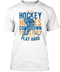 Discover Hockey Heros Shirts T-Shirt from EYECATCHER, a custom product made just for you by Teespring. Play Hard, Hockey, Just For You, Hero, Mens Tops, T Shirt, Supreme T Shirt, Tee Shirt, Field Hockey