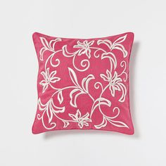 CONTRASTING FLOWERS PILLOW - Decorative Pillows - Bedroom | Zara Home Canada