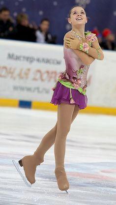 Adelina Sotnikova -Purple/Lilac Figure Skating / Ice Skating dress inspiration for Sk8 Gr8 Designs.