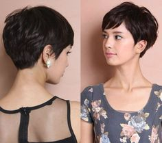 This is often amazing recommendations relating to short textured pixie hairstyles, very short layered pixie hairstyles, also other pixie haircut options. Short Pixie Haircuts, Haircuts With Bangs, Short Bob Hairstyles, Hairstyles Haircuts, Pixie Haircut Long, Asymmetrical Pixie Haircut, Women Pixie Haircut, Bob Haircuts, Hairdos