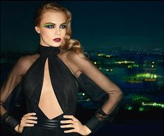 Cara Delevingne for YSL Fall 2013 Beauty campaign