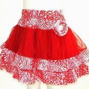 Tulle Tutu Girls Skirt Sewing Pattern