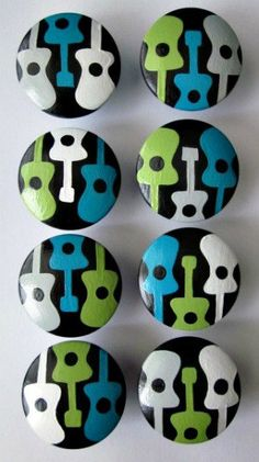 Hey, I found this really awesome Etsy listing at https://www.etsy.com/ca/listing/104883186/mono-guitar-rock-and-roll-knobs-drawer