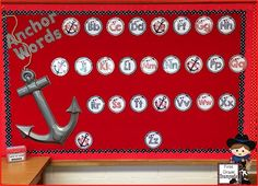 Anchor Words (Word Wall) - Super cute idea for a Nautical Themed Classroom!