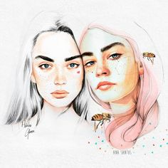 Colaboration with Ana Santos on Behance
