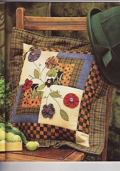 Have a quilt that I never finished that might just find a new purpose... decorative sofa pillows