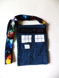 Doctor Who TARDIS Outer Space Purse by MAGICbyAnnaPanda on Etsy, $49.00