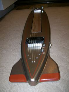 Retro rocket lap steel