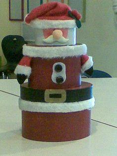 süße Geschenkverpackung zur Weihnachtszeit, die danach weiter als Dekoration genutzt werden kann