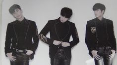 kpop scans: Double S 301 ( SS301 - from SS501 ) - Eternal 5 ( single : pain ) Group card