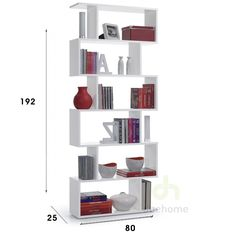 estanteria blanca moderna