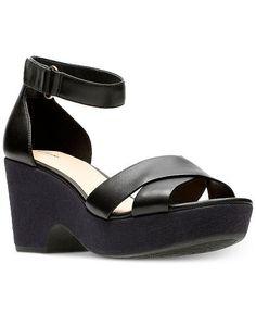 4a5f0c0e4a39d Clarks Artisan Women s Maritsa Ruth Wedge Sandals Women s Shoes