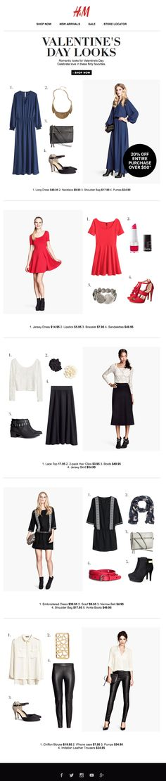 H&M : Outfitting