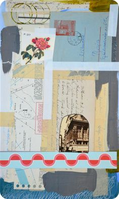 Mixed Media Postcard, by Mary-Ann Moss