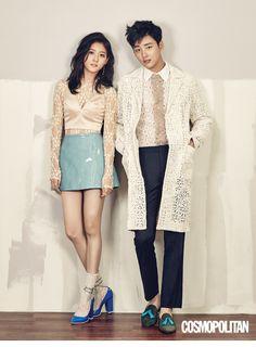 Kim Sae Ron and Yoon Si Yoon - Cosmopolitan Magazine April Issue '16