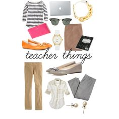 teacher clothes.
