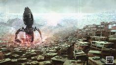 Slum, Terraformer, Aliens, Attack
