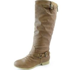 3ce344b8d0b Top Moda Women s COCO 1 Knee High Riding Boot Lace Ankle Boots