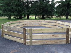 Camp Restoration's newly built Gaga Pit!  A popular camp game.