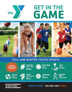 It may be hot and miserable outside now, but Fall is coming sooner than you think! Register your kiddos in YMCA Fall Sports! #YMCA http://www.ymcaokc.org/sports