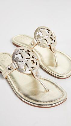 b089e55a0be2 Tory Burch Miller Thong Sandals