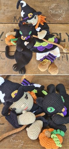 Crochet Baby Loveys - The Best Free Patterns. These adorable loveys are a CAL project, that started September 22 and the pattern will be released in 6 parts in over 3 weeks. Until the end of the CAL, the project is free, after it will be monetized. Make sure to crochet it in time for Halloween! #freecrochetpattern #amigurumi #toy