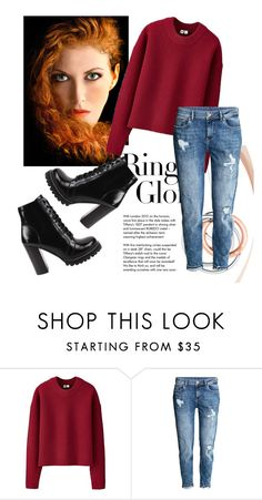 """""""sweet cherry"""" by explorer-14442013394 on Polyvore featuring Tiffany & Co., Uniqlo, H&M and Jeffrey Campbell"""