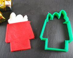 Snoopy emporte-pièce, 3D imprimées, Mini emporte-pièce et Standard Cookie Cutter tailles