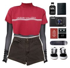 """""""2.4.17 FEBRUARY 4th, 2017"""" by parkerxoxo on Polyvore featuring GUESS, Royce Leather, Canon and vintage"""