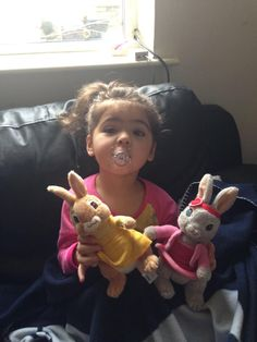 @MessiahKaeto - my daughter finally has her new Cottontail toy to go with Lily Bobtail, Benjamin Bunny & Peter Rabbit! @CBeebiesHQ