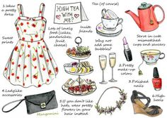 Mangomini (for Hello Giggles) How to have a High Tea party