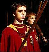 Oliver Wood (Sean Biggerstaff), Harry's Quidditch Team Captain.