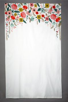 Painted Photobooth Backdrop - too bad we didn't find this before the garden party!