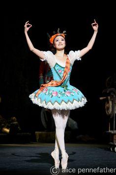 "Shiori Kase as ""Swanilda"", ""Coppelia"", English National Ballet"