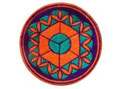 sacred geometry medium patch element earth por ImZauberwald