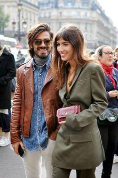 Patricia Manfield and Giotto Calendoli #Fashion #Women_Style